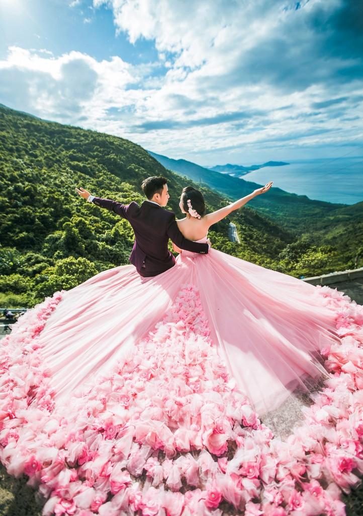 Ảnh cưới tại Đèo Hải Vân