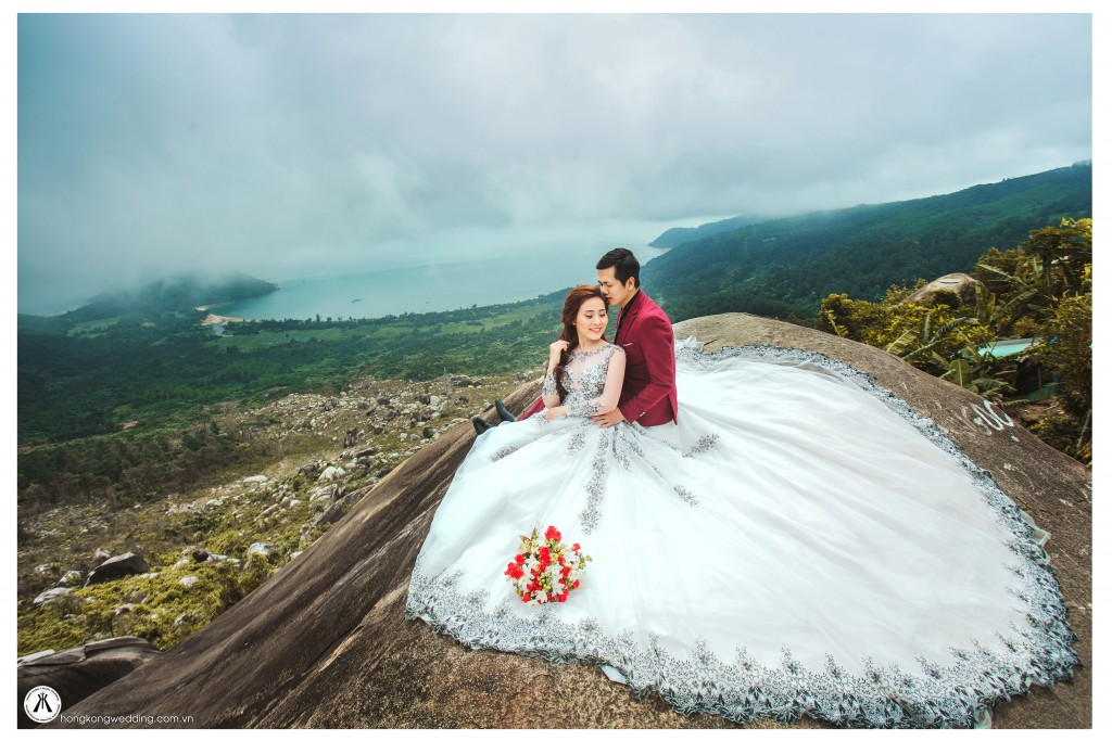 Ảnh cưới đẹp tại Đèo Hải Vân