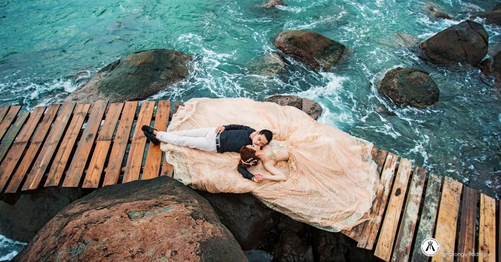 Ảnh cưới đẹp tại Bán đảo Sơn Trà
